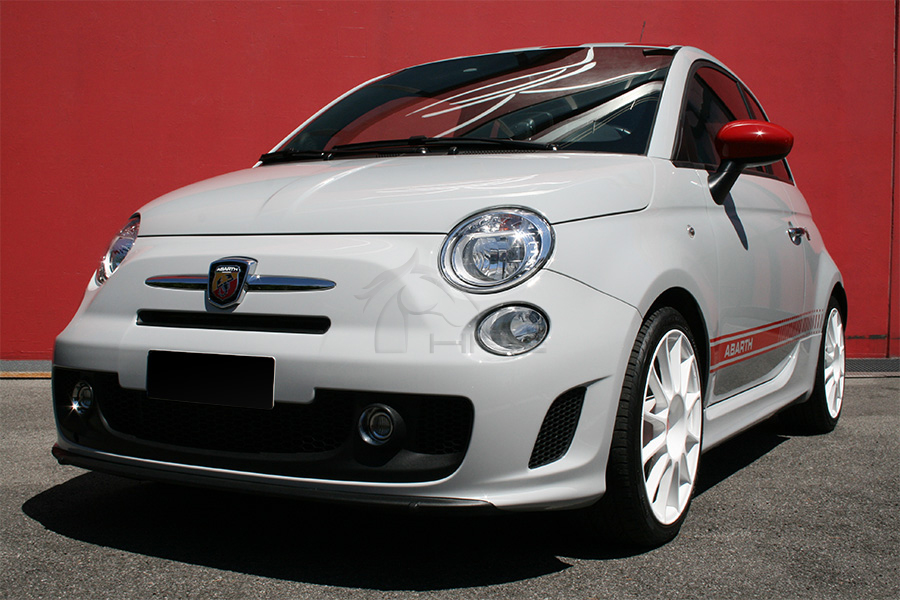 Rent Fiat 500 Abarth Opening Edition Tour Events Wedding Advertising