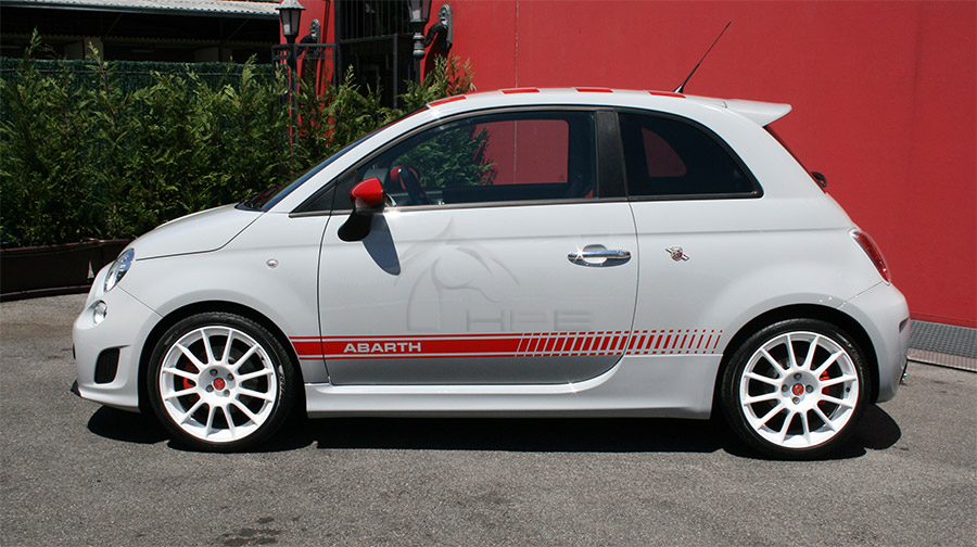 rent fiat 500 abarth opening edition tour, events, wedding, advertising