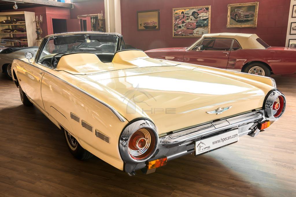 noleggio ford thunderbird cabriolet tour  eventi